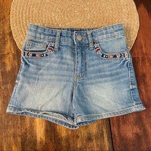 5/$20 GAP High waisted jean shorts
